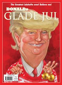 Donald Trumps glade jul