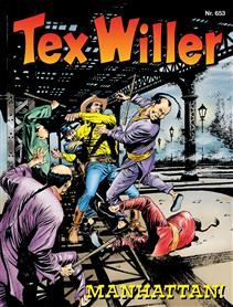 Album Tex Willer 653 Manhattan!