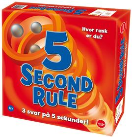 5 Second rule - familie spill